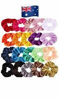 20/30/40 Pack Velvet Elastic Hair Bands Scrunchies Scrunchy Women nz