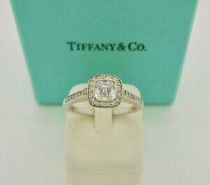 Authentic Tiffany & Co. Legacy 0.45ctw Cushion Diamond Engagement Ring $8,950