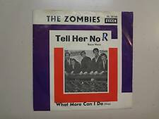 """ZOMBIES: Tell Her No 2:10- What More Can I Do-Germany 7"""" 1965 Decca DL 25168 PSL"""