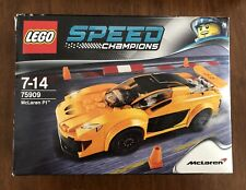 Lego Speed Champions 75909 McLaren P1 Car & Figure only Boxed