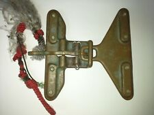 Vintage, antique ,brass commercial divers weight belt buckle