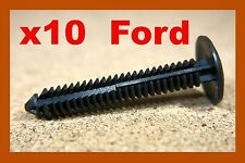 10 Ford mud flap panel board splash cover guard fastener clips pin