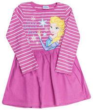 Vestidos de niña de 2 a 16 años de color principal rosa 100% algodón