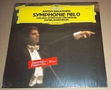 Barenboim/Chicago Symphony BRUCKNER Symphony No.0 - DG 2531 319 SEALED