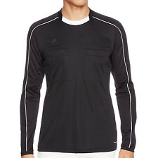 adidas Performance Mens Long Sleeve Football Referee 16 Jersey - Black - S
