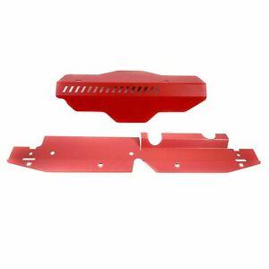 Radiator Shroud Pulley Belt Cooling Plate For 2008-2014 Subaru WRX STi Impreza