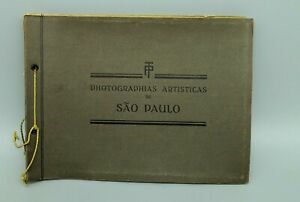 Neun Fotos Sao Paulo Brasilien um 1930 21cm auf 16cm