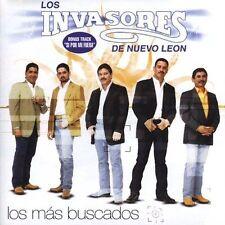 Los Invasores De Nuevo Leon : Los Mas Buscados CD