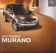 2011 11 Nissan Murano original sales brochure Mint