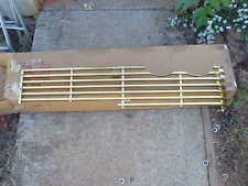 1958 Plymouth Fury NOS MoPar Driver side GOLD GRILLE #1754441