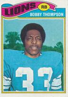 1977 Topps #486 Bobby Thompson Detroit Lions Football Card