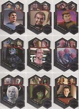 """Star Trek Aliens - """"First Appearances"""" Set of 9 Chase Cards #FA1-9"""