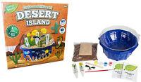 Grow & Decorate Your Own Desert Island Cactus Plant & Pot Kids Craft Set R030247