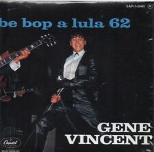 CD Single Gene VINCENT	Be Bop a Lula 62 - French EP REPLICA  4-TRACK CARD SLEEVE
