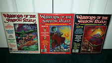 Marvel Super Special 11 12 13 Weirdworld Warriors Of The Shadow Realm 1979 Mag.