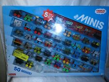 NEW THOMAS AND FRIENDS MINIS - 50 MINIS - 5 EXCLUSIVE WARRIOR MINIS! LOT
