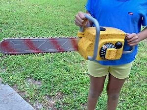 Chainsaw Massacre Halloween Costume Prop Bloody Leatherface Animated Sounds