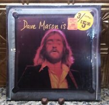 "DAVE MASON ""Dave Mason Is Alive"" LP 1973 MCA 713 BTS 54  Shrink"