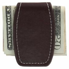 Money Clip, Leather Magnetic Money Clip.