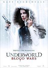 Underworld Blood Wars Poster Selene Movie Beckinsale FREE P+P, CHOOSE YOUR SIZE