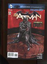NEW 52 BATMAN #7 (9.2) VARIANT COVER! HTF