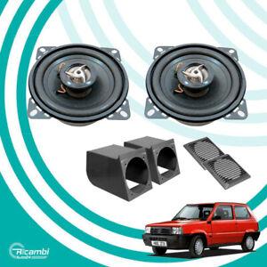 KIT Casse Altoparlanti Box Supporti Griglie per FIAT PANDA 141 1983 fino 2003