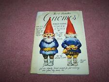Vintage Gnome Book 1976 English Rien Poortvliet, Leven En Werken Van De Kabouter