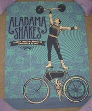 ALABAMA SHAKES concert gig poster ATHENS GA 1-30 1-31 2015 Tour justin helton