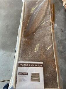 Ottomanson escalier stair tread, 7 Pack, Beige 8.5in X 26.6in