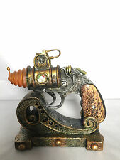 """Steampunk Machinery The Cod C.O.D Colonel Fizziwigs Pistol Display Toy 5.5"""" Long"""