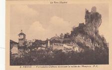 PENNE 2 formidable château dominant la vallée de l'aveyron