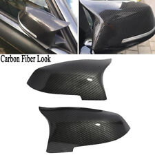 Carbon Fiber Look Mirror Cover for BMW 5 6 7 Series F10 F06 F12 F13 F02 2014-16