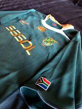 Canterbury South Africa Springboks Rugby Shirt 2010/2011 Size XL SASOL