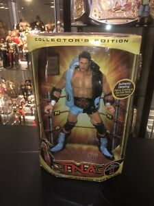 TNA Wrestling AJ Styles 12 Inch Action Figure With Real Gear and X-Division Belt