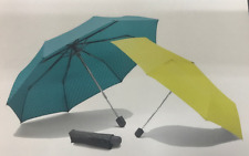 Genuine MINI Folding Pocket Umbrella Grey, Aqua or Lemon 80 23 2 445 719