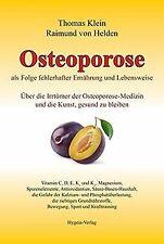 Osteoporose als Folge fehlerhafter Ernährung und Le...   Buch   Zustand sehr gut