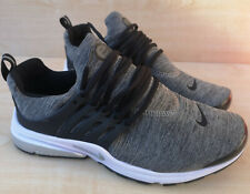 Nike Air Presto Size 10 Mens Grey Trainers Running Shoes Sneakers