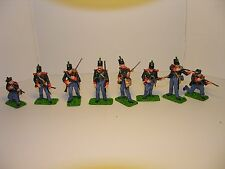 soldat 1er empire - 60 th rifles regiment of foot , anglais 1812