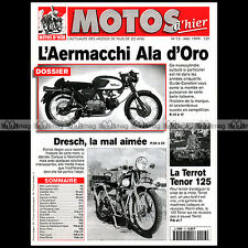 MOTOS D'HIER N°13 AERMACCHI ALA D'ORO DRESCH MS 604 TERROT TENOR SOCIABLE MOREL