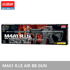 ACADEMY M4A1 R.I.S Airsoft BB Gun 6mm /20mm Rail Interface System, ABS Parts