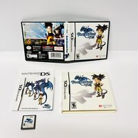 Nintendo DS - BLUE DRAGON PLUS- First Print W/Slipcover - Complete and TESTED!