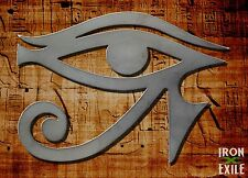 Eye of Horus Metal Egyptian Wall Art Sign Emblem Ra All Seeing Eye Stencil