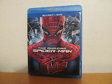 THE AMAZING SPIDERMAN Blu Ray / DVD 3 Disc Set - I combine shipping