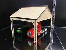 1/64 Equipment Shed for Cars Trucks Semis Tractors Trailers Dcp Ertl Pem Diorama