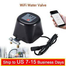 Smart WiFi Water Valve Sensor Shutoff Home Google Assistant Detection Monitor