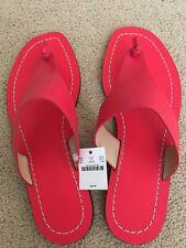 NWT J Crew Women Playa Sandals Poppy Size 8M