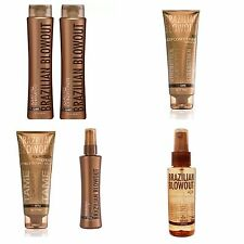 Brazilian Blowout Acai Anti-Frizz Shampoo Conditioner Masque Balm Oil Shine SET