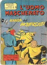 L'UOMO MASCHERATO 16 AVVENTURE AMERICANE EDIZIONE FRATELLI SPADA