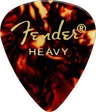 Fender 351 Classic Celluloid Guitar Picks - SHELL - HEAVY - 144-Pack (1 Gross)