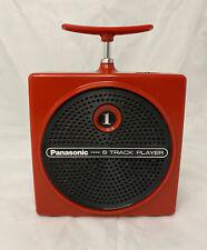 Panasonic Tnt 8-Track Player Red Rq-830S